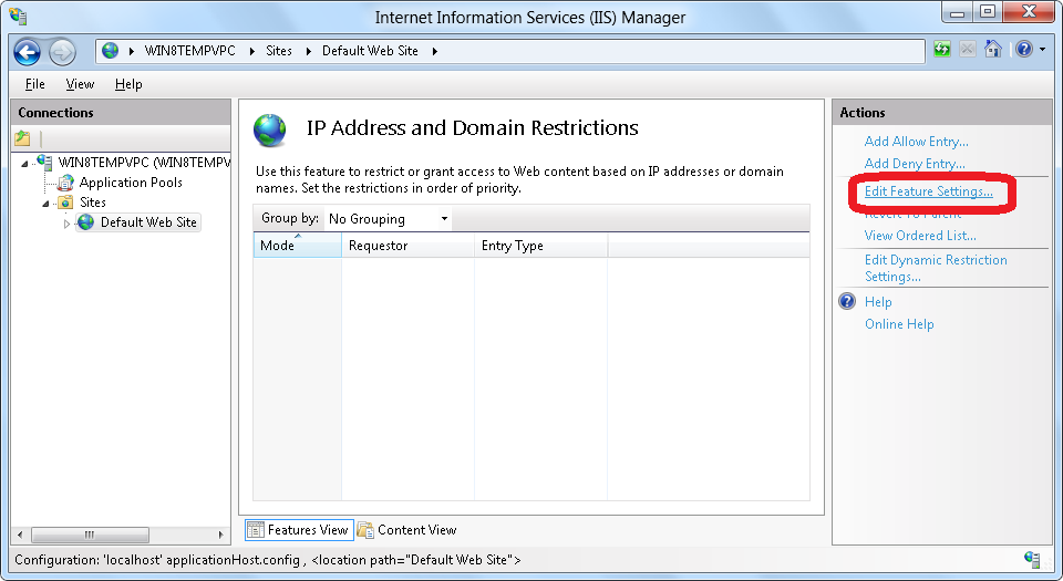 configuring ip address restrictions Map ip addresses to mac addresses however i have heard of users trying such  and the dhcp server issued out reserved ip addresses that.