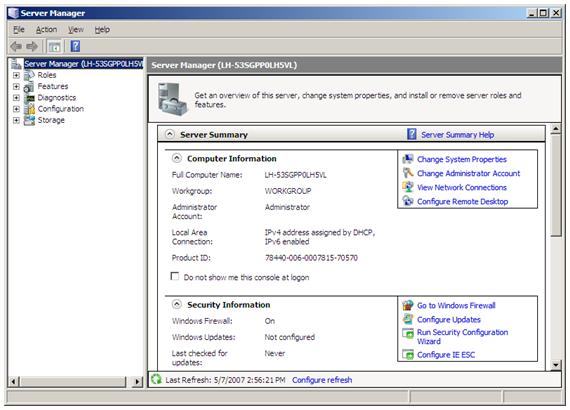 Installing IIS 7 on Windows Server 2008 or Windows Server 2008 R2 ...