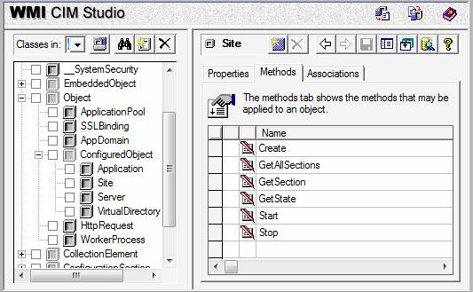 Managing Sites with IIS 7 0's WMI Provider : The Official