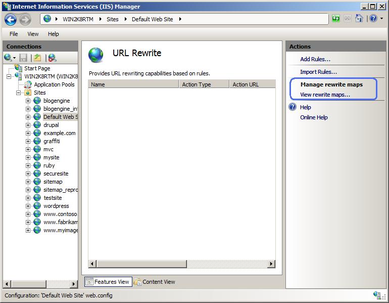 Angularjs Html5 Mode and IIS rewrite
